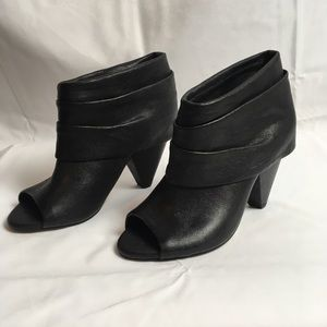 Vince Camuto Leather Ankle Boots